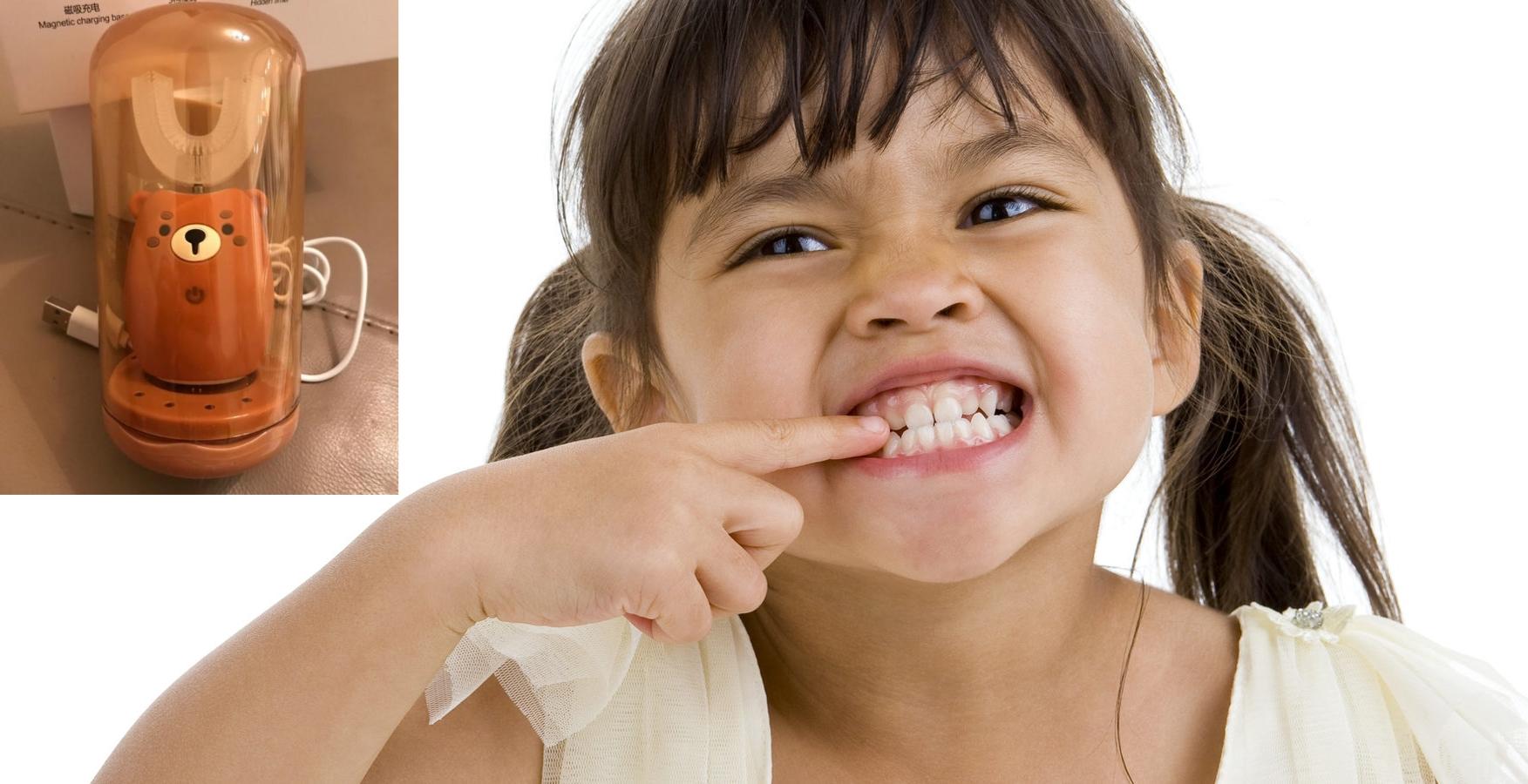 Электрическая звуковая детская зубная щетка ZUBikk 360+
