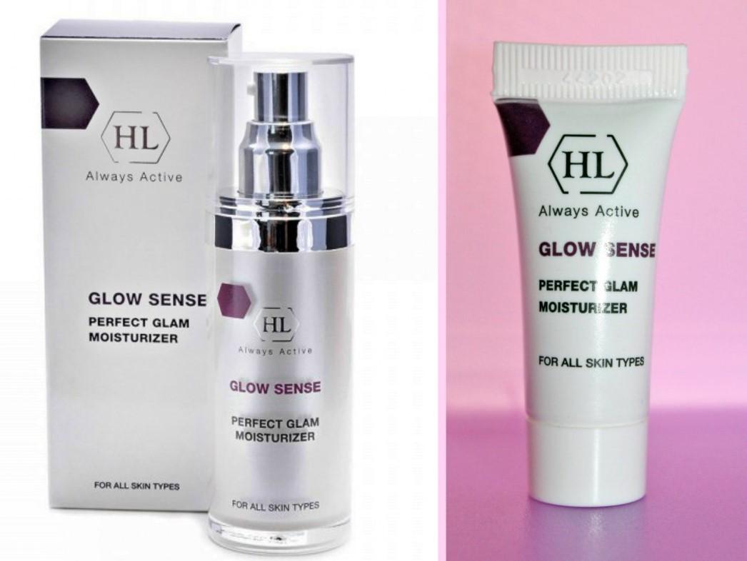 Увлажняющий крем Holy Land с эффектом сияния Glow Sense Perfect Glam Moisturizer