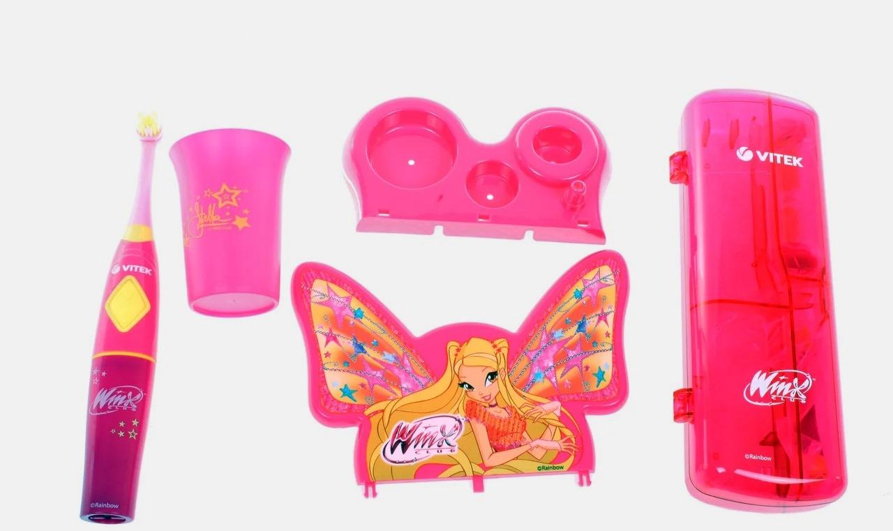 Электрическая зубная щетка детская Vitek «Винкс»