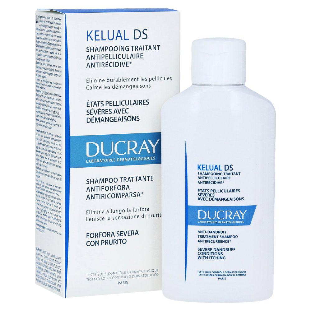 Ducray Kelual DS, шампунь против тяжелых форм перхоти