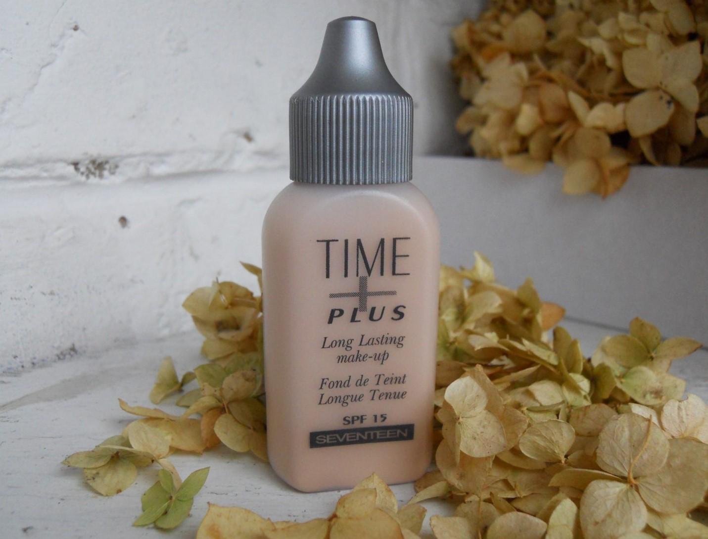 Seventeen Тональный крем Time Plus Long Lasting make-up