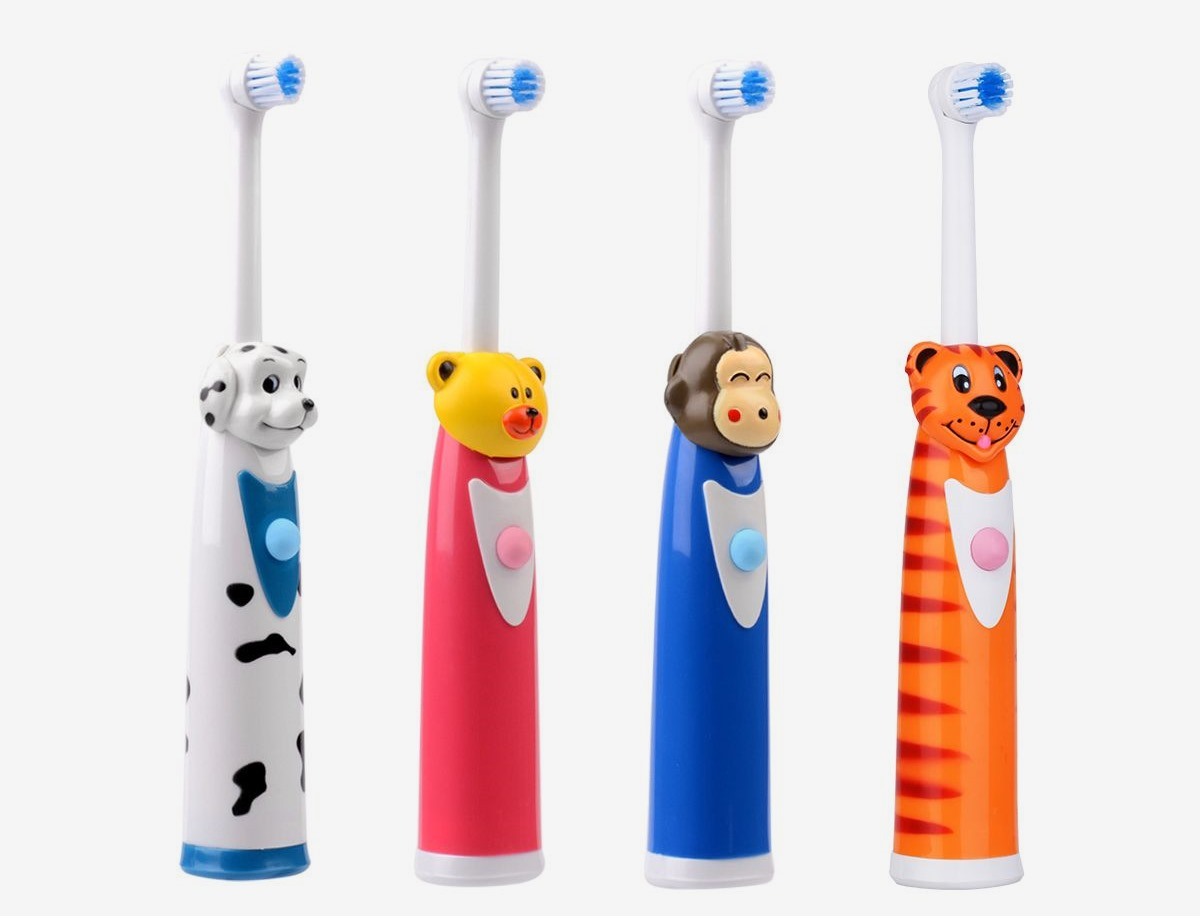 Детская электрическая зубная щетка CkeyiN