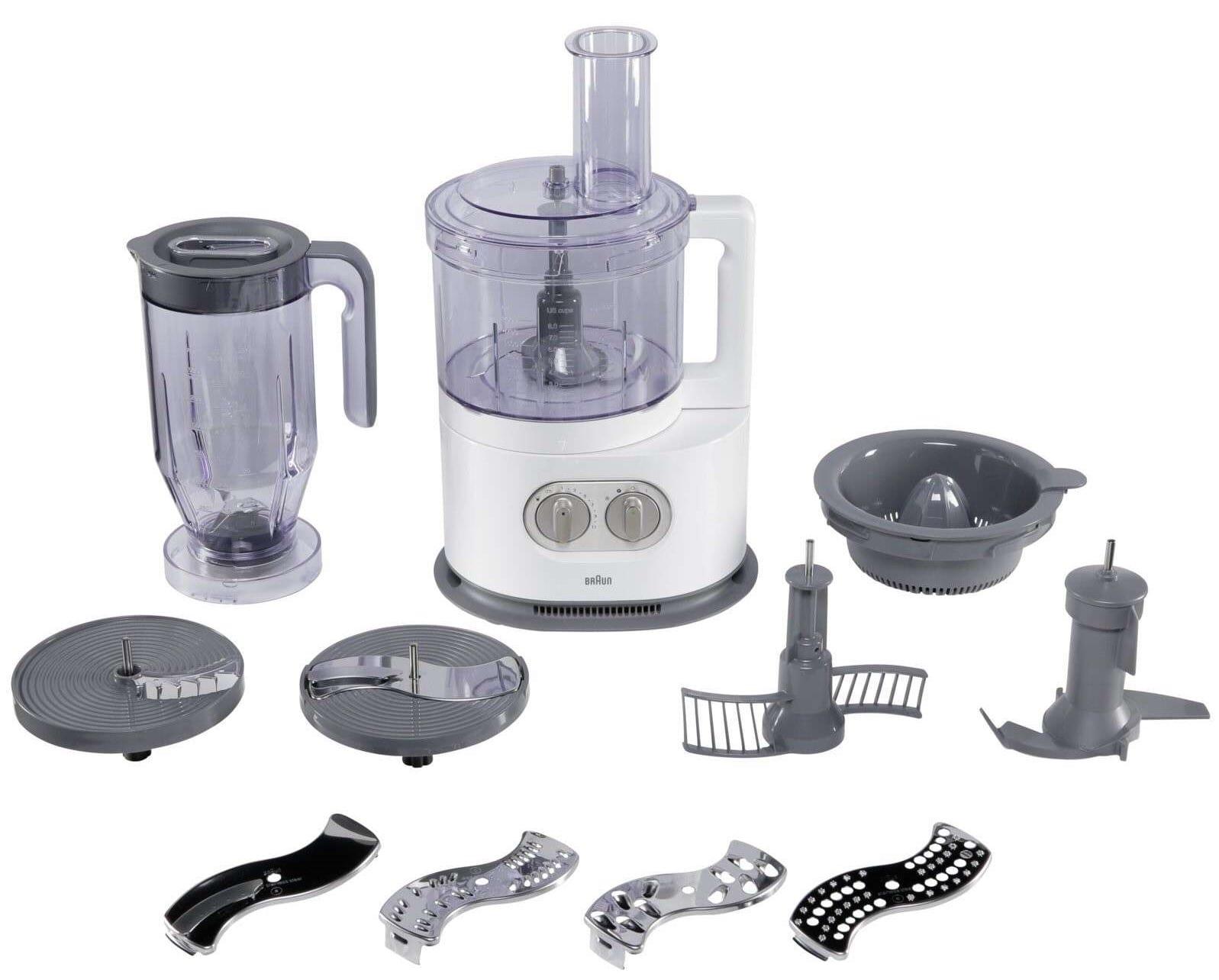 braun fp5150wh кухонный комбайн
