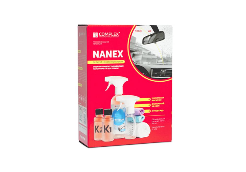 гидрофобное нанопокрытие Nanex «Антидождь, антилед»