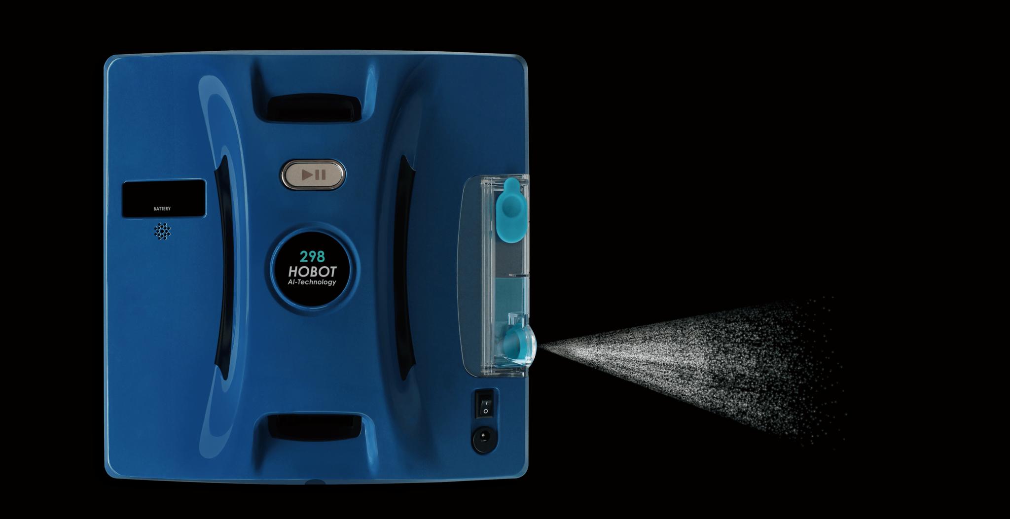 робот-стеклоочиститель HOBOT 298 Ultrasonic