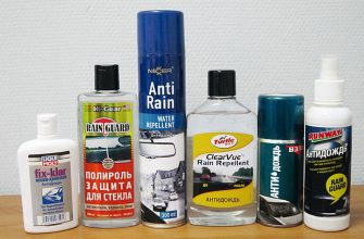 автохимия «Антидождь»