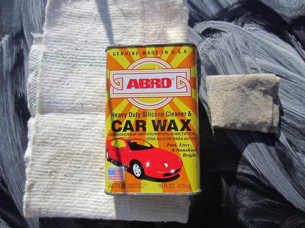 Abro Car wax