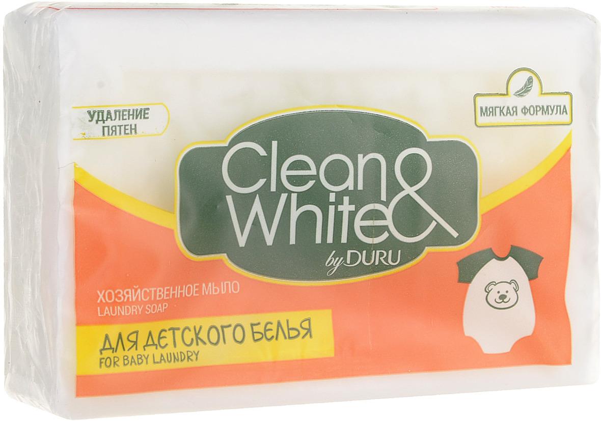хозяйственное мыло Duru Clean&White детское