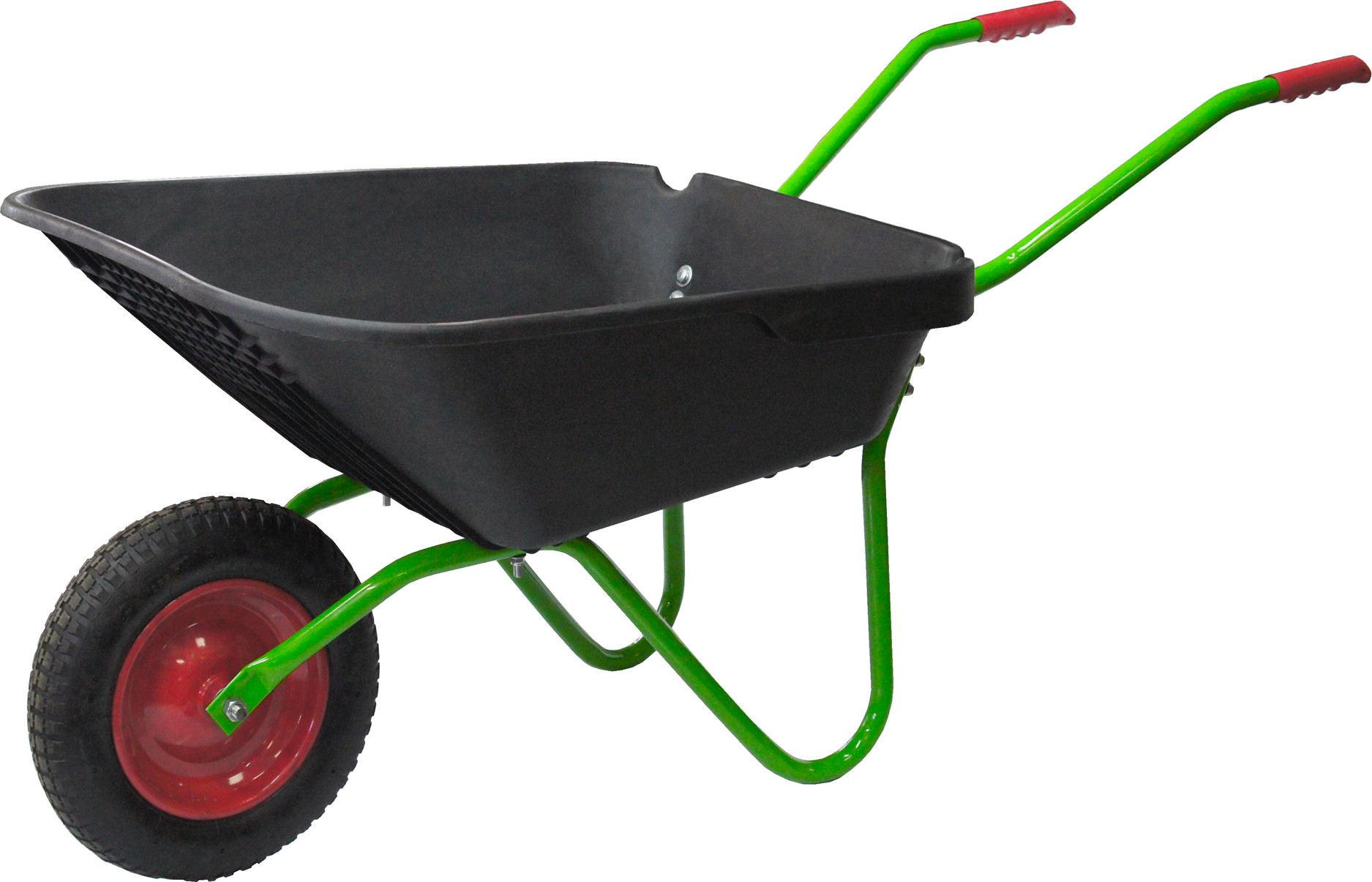 Тачка садово-строительная 175 кг90 л «СибрТех»