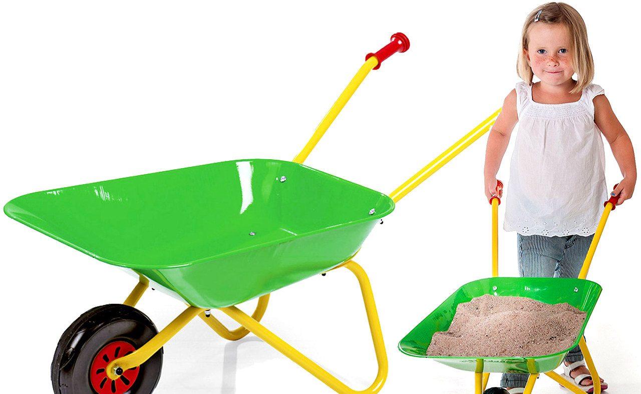 детская садовая тачка