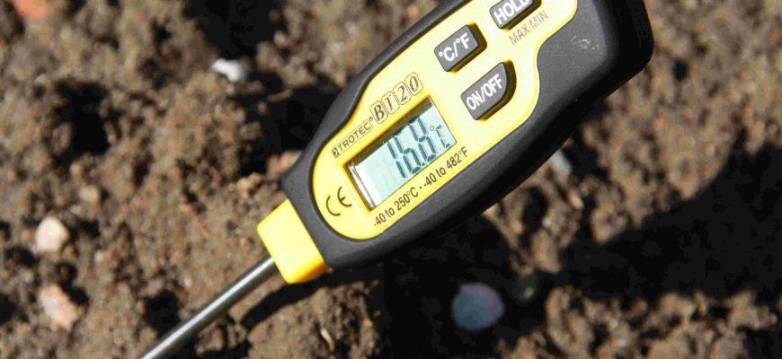 определитель кислотности почвы