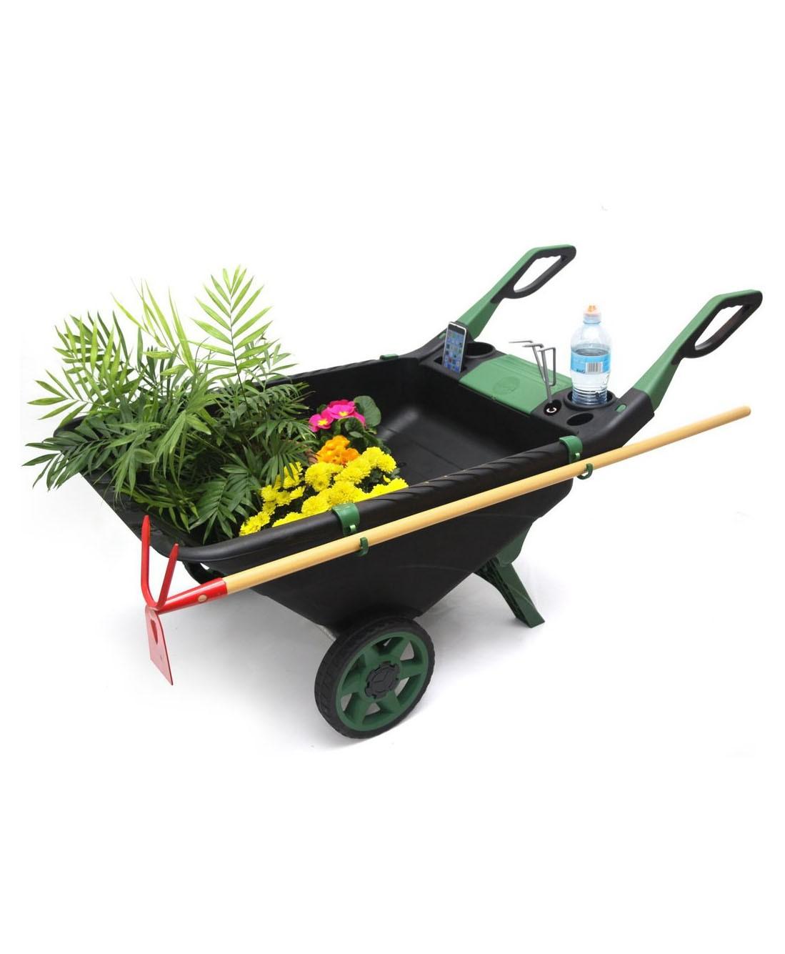 Садовая тачка-тележка Garden Cart, 80 л