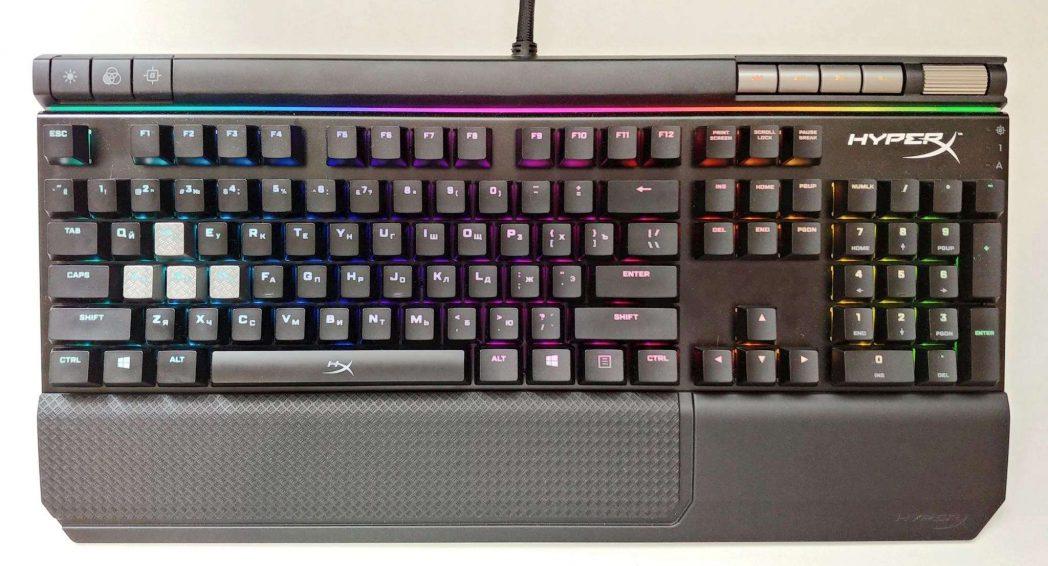 HyperX Alloy Elite RGB (Сherry MX Red) Black USB