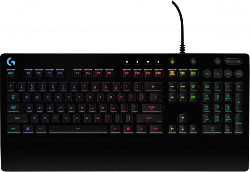 Logitech G G213 Prodigy RGB Gaming Keyboard Black USB