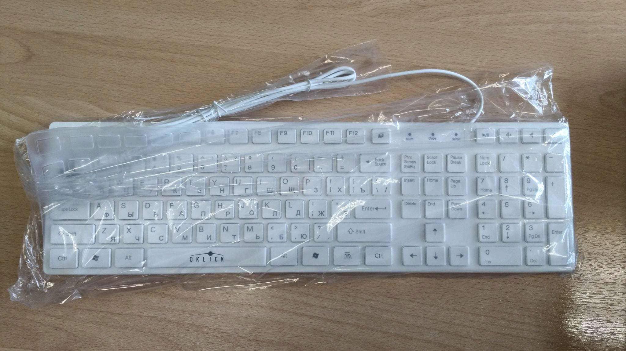 OKLICK 556S White USB