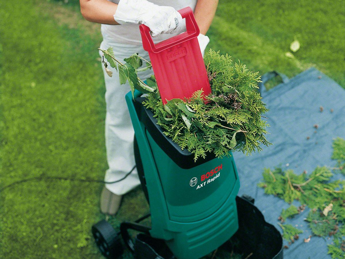 профессиональный измельчитель садовый