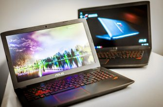 ТОП-10 лучших игровых ноутбуков от Asus