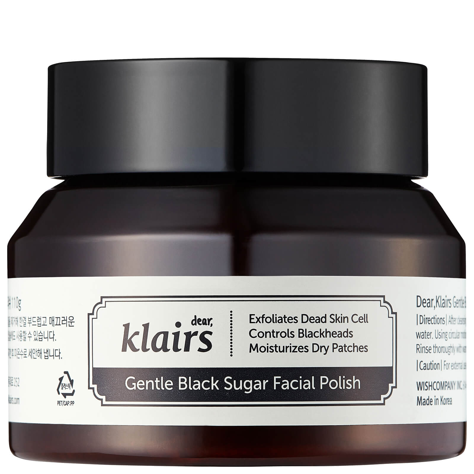 Скраб black sugar facial polish