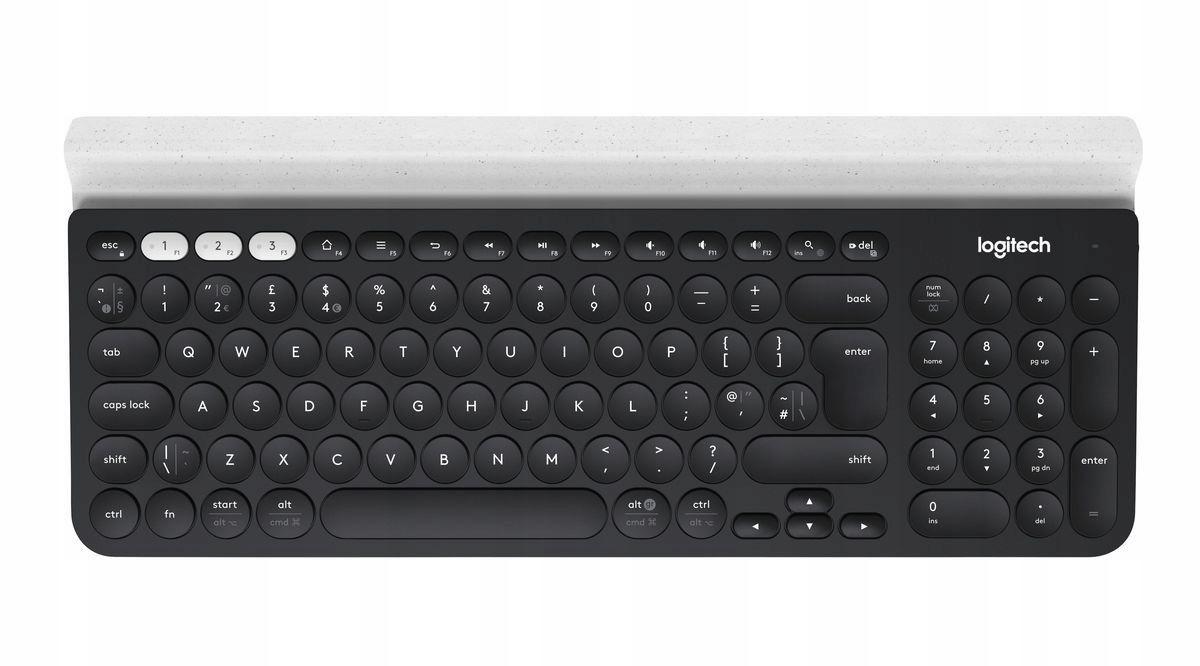 Logitech K780 Multi-Device Wireless Keyboard Black Bluetooth