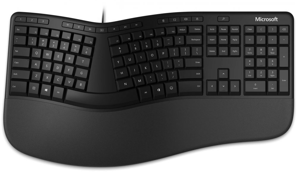 Microsoft Ergonomic for Business Black