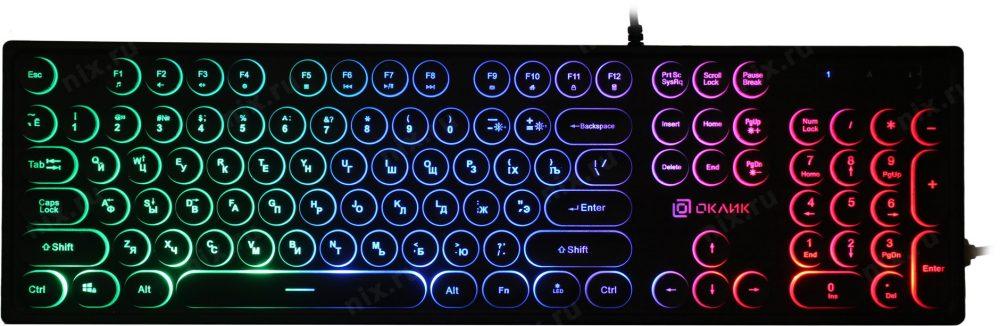 OKLICK 410MRL Black USB