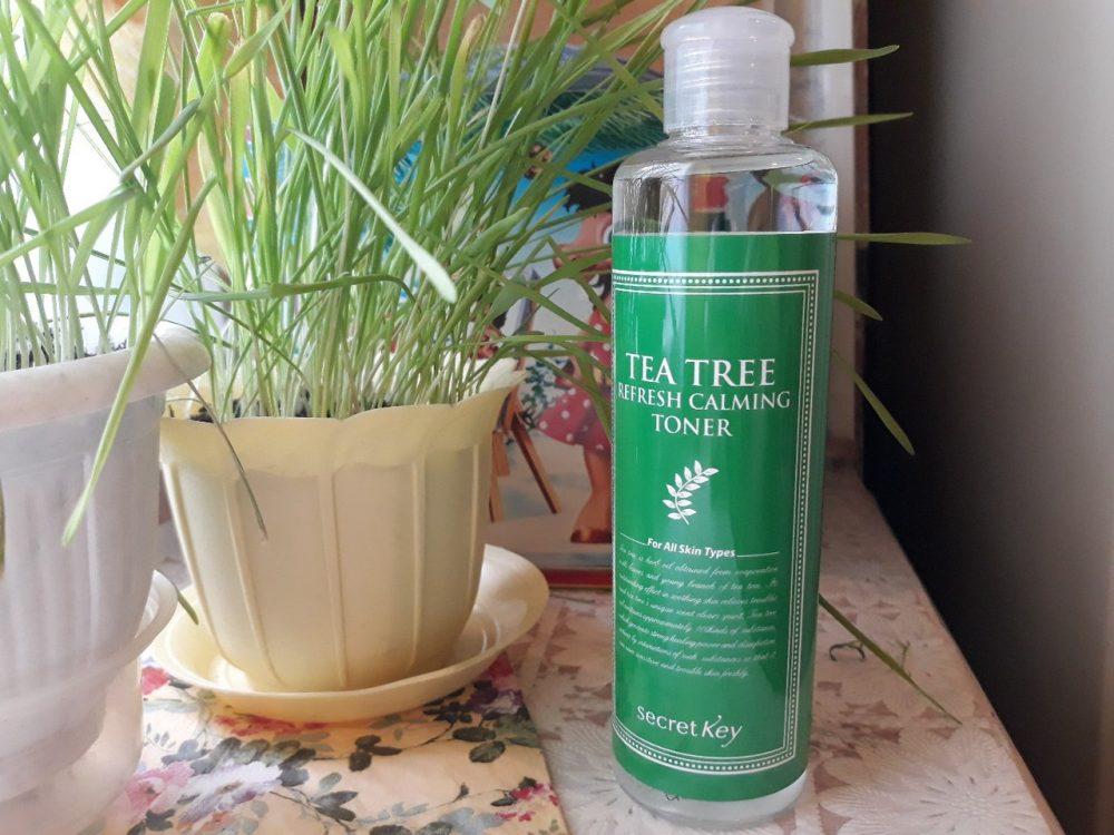 Secret Skin тонер с экстрактом чайного дерева Tea Tree Relax