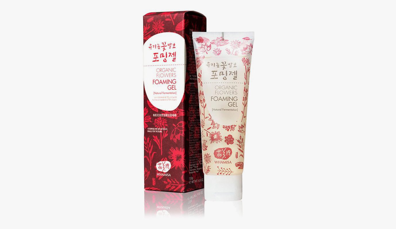 WHAMISA Organic Flowers Foaming Gel