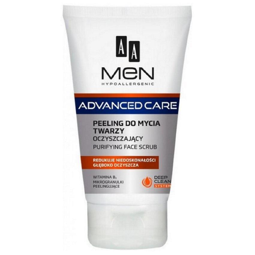 AA Men Advanced Care Face Scrub