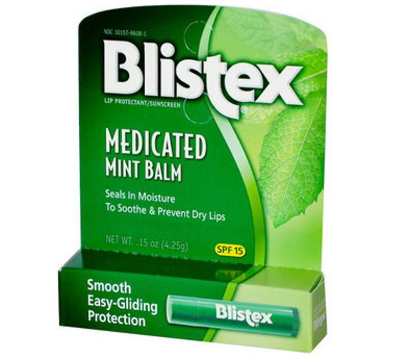Blistex Бальзам для губ Medicated Mint