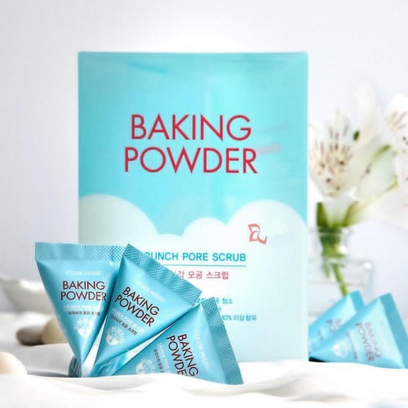 ETUDE HOUSE Скраб для лица в пирамидках с содой Baking Powder Crunch Pore Scrub