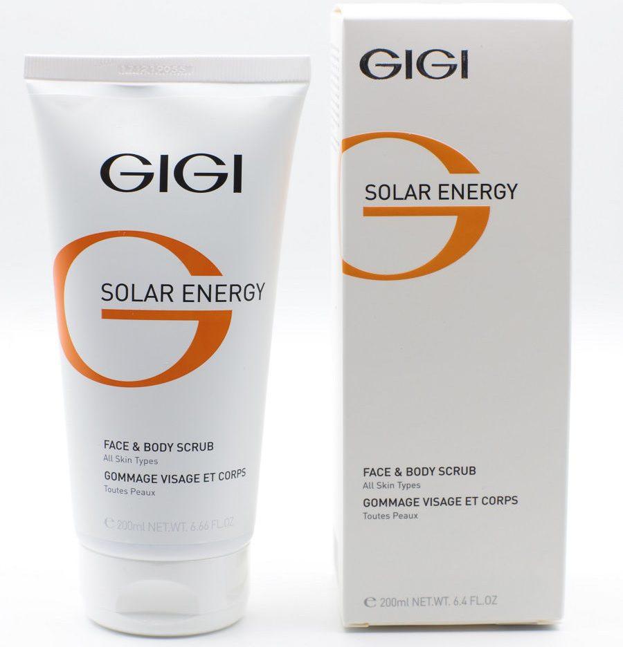 Gigi Скраб для лица и тела Solar Energy