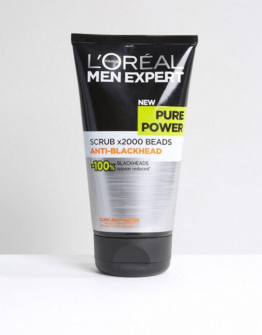 L'Oreal Paris Скраб для лица Men Expert Pure Power