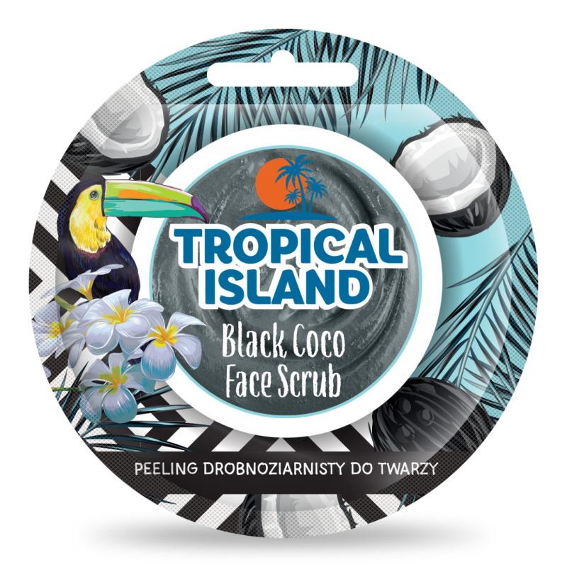 Marion Tropical Island Black Coco Face Scrub