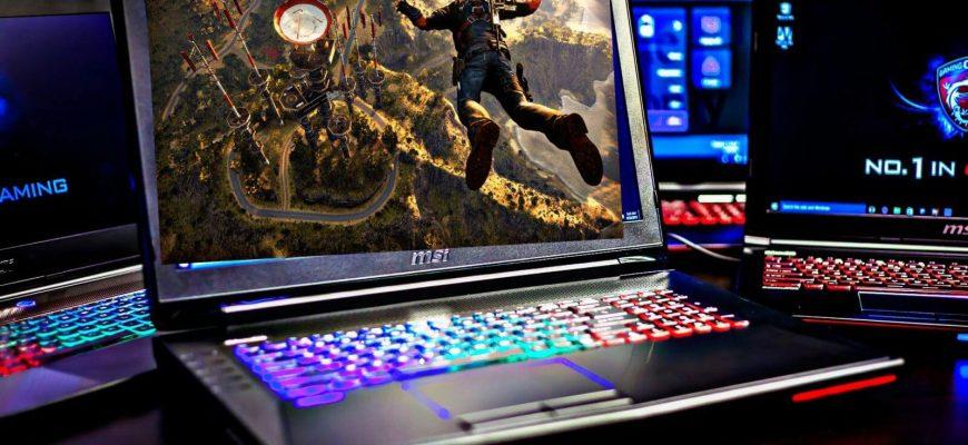 рейтинг игровых ноутбуков 2020