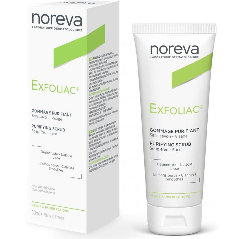 Скраб Noreva Exfoliac, очищающий