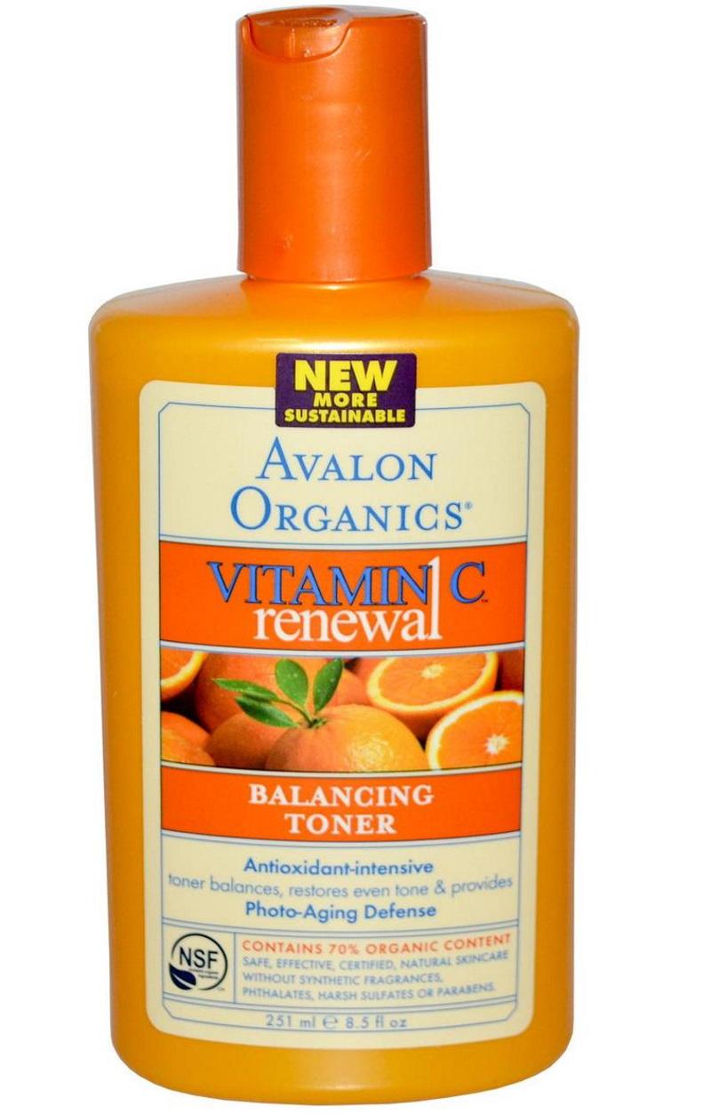 Тоник для лица Vitamin C от Avalon Organics