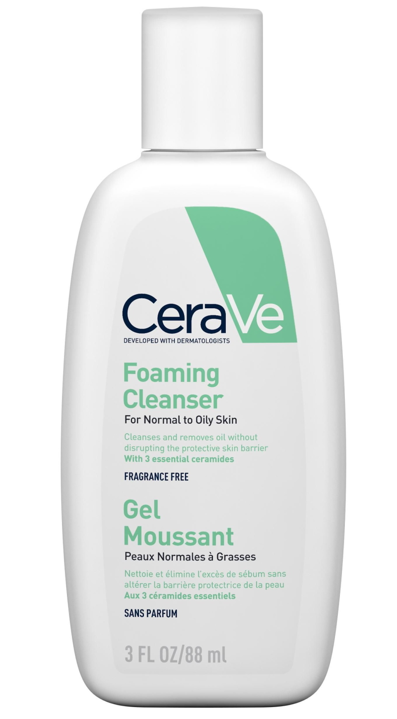 CeraVe гель для нормальной и жирной кожи лица и тела