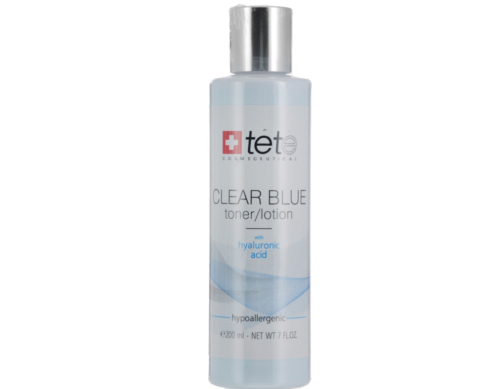 Clear Blue Toner Lotion with hyaluronic acid TETE