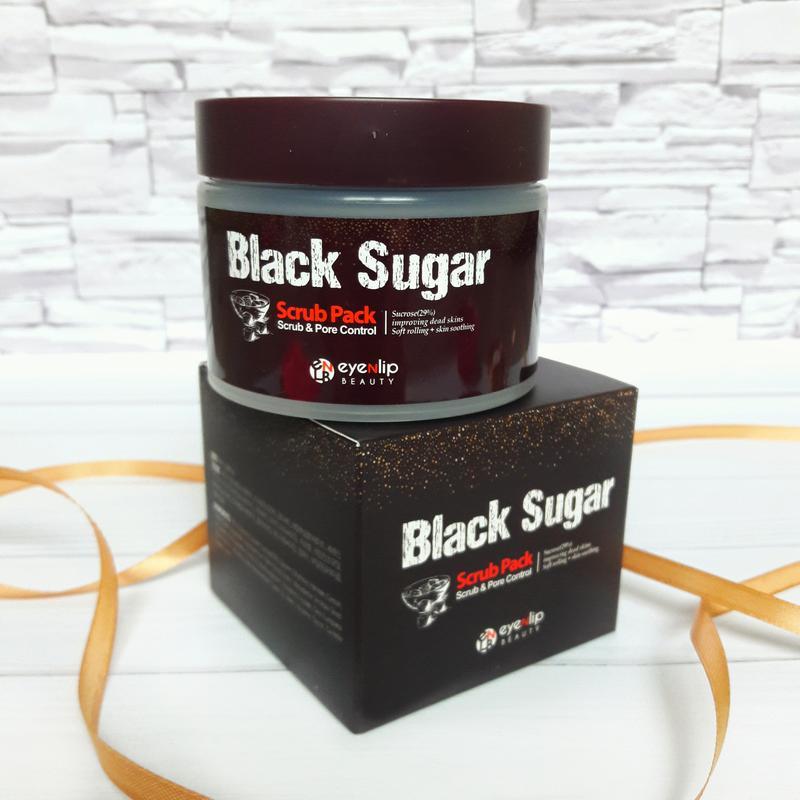 Eyenlip Скраб для лица Black Sugar Scrub Pack