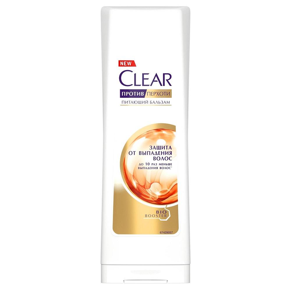 Clear шампунь против перхоти питающий «Защита от выпадения волос»