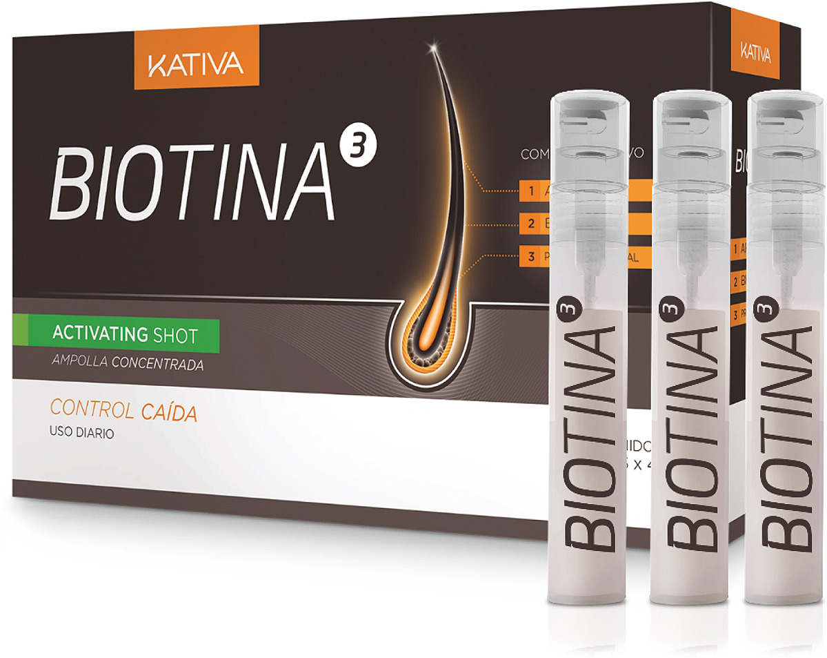 Шампунь Kativa Biotina против выпадения