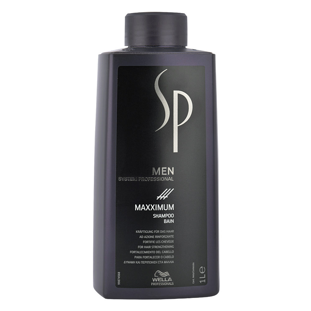 Шампунь Wella Professionals SP Men Maxximum
