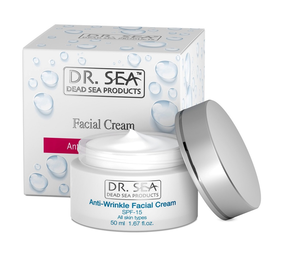 Dr. Sea Anti-Wrinkle Facial Cream SPF 15