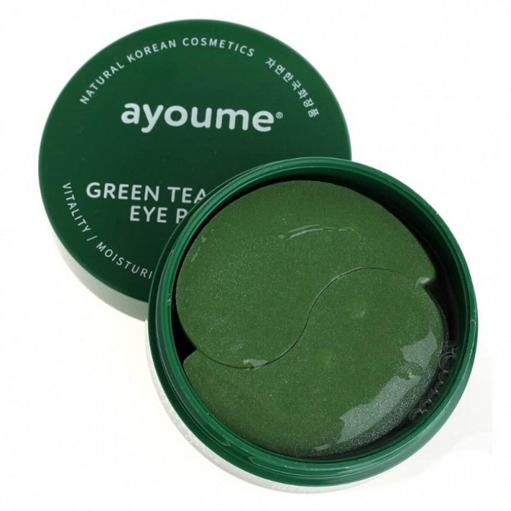 Green Tea+Aloe Eye Patch (Ayoume)
