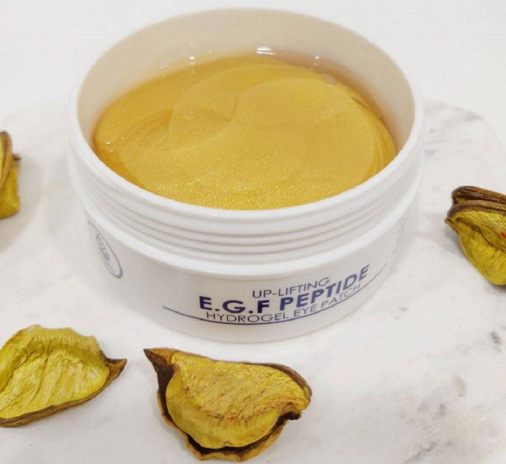 Up-Lifting E.G.F Peptide Hydrogel Eye Patch