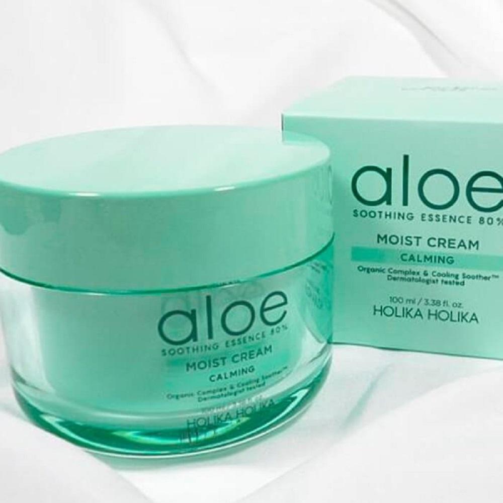 Увлажняющий крем для лица Aloe V Moisturizing Cream компании Dermatime
