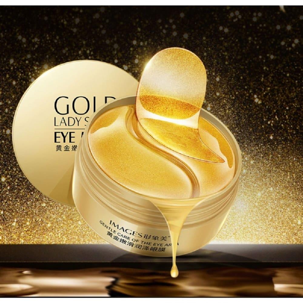 Venzen Гидрогелевые патчи для кожи вокруг глаз с ионами золота и экстрактом водорослей