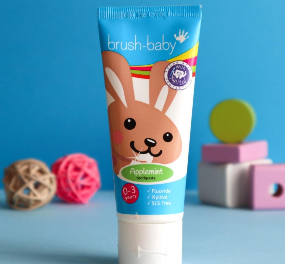 Зубная паста Brush Baby BRB092 0-3 лет