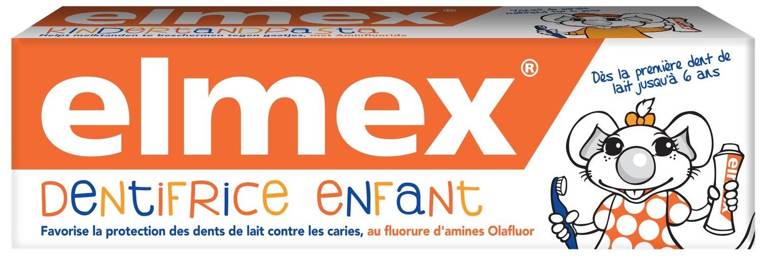 Зубная паста Elmex для детей от 1 до 6 лет