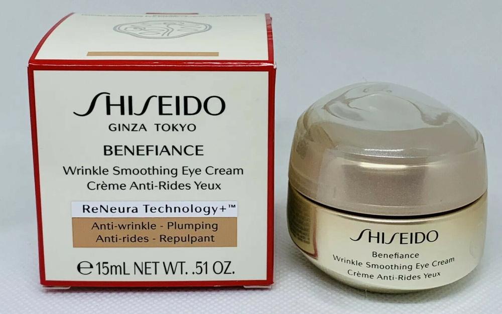 Benefiance Wrinkle Smoothing Eye Cream фирмы Shiseido